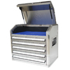 Kobalt 23.2-in x 27-in 5-Drawer Tool Chest (Silver)