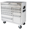 Kobalt 11-Drawer 41-in Stainless Steel Tool Chest