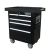 Kobalt 4-Drawer 27-in Steel Tool Cabinet (Black)