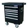 Kobalt 6-Drawer 33-3/8-in Steel Tool Cabinet (Black)