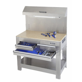 Kobalt Stainless Steel Heavy Duty Workbench