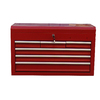 Task Force 6-Drawer 26-in Steel Tool Cabinet (Red)