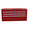 Task Force 12-in x 26-in 3-Drawer Ball-Bearing Steel Tool Chest (Red)