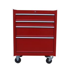 Task Force 4-Drawer 26-in Steel Tool Chest (Red)