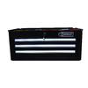 Kobalt 3-Drawer 26-in Steel Tool Cabinet (Black)