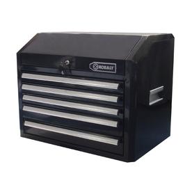 """Kobalt 5-Drawer 27"""" Steel Tool Chest (Black)"""