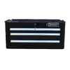 Kobalt 3-Drawer 27-in Steel Tool Cabinet (Black)