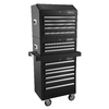 Kobalt 35.7-in x 27-in 6-Drawer Ball-Bearing Steel Tool Cabinet (Black)