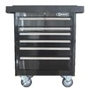 Kobalt 6-Drawer 27-in Steel Tool Cabinet (Black)