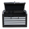 Kobalt 17.25-in x 26-in 6-Drawer Ball-Bearing Steel Tool Chest (Black)