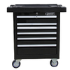 Kobalt 35.6-in x 27-in 6-Drawer Ball-Bearing Steel Tool Cabinet (Black)