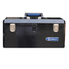 Kobalt 20.6-in Black Steel Lockable Tool Box