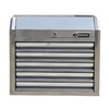 Kobalt 23.2-in x 27-in 5-Drawer Ball-Bearing Tool Chest (Stainless Steel)