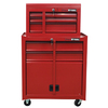 ProSteel 48-in x 26.6-in 5-Drawer Friction Steel Tool Cabinet (Red)