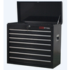 ProSteel 23-in x 26-in 7-Drawer Ball-Bearing Steel Tool Chest (Black)