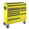 Kobalt 41-in x 41-in 11-Drawer Ball-Bearing Steel Tool Cabinet (Yellow)