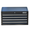 Kobalt 22.9-in x 35-in 4-Drawer Ball-Bearing Steel Tool Chest (Black)