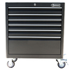 Kobalt 40-in x 35-in 6-Drawer Ball-Bearing Steel Tool Cabinet (Black)