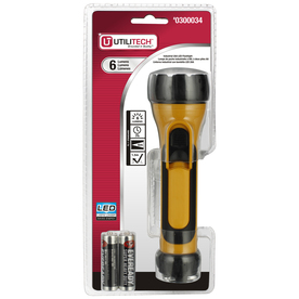 Utilitech 6-Lumen LED Handheld Battery Flashlight