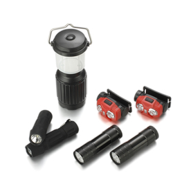 Utilitech 7-Piece LED Handheld Flashlight Set