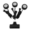Utilitech Pro 3-Pack 2.6-in Plug-In Under Cabinet LED Puck Lights