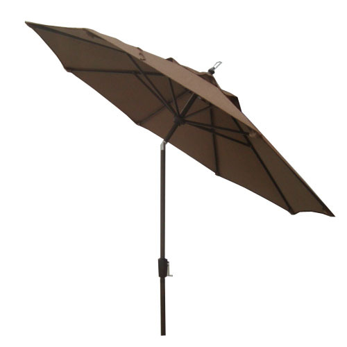 Garden Treasures Herrington Acrylic Patio Umbrella Cast Stand At