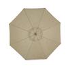 Garden Treasures Driscol Market Patio Umbrella (Common: 8.7-ft W x 8.7-ft L; Actual: 8.7-ft W x 8.7-ft L)