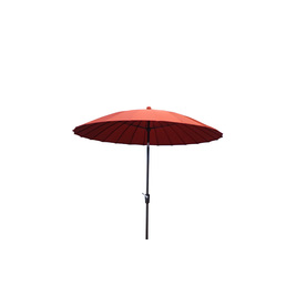 Garden Treasures 8 Ft 2 In Red Round Patio Umbrella