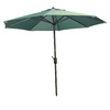 Garden Treasures 8-ft 10-in Light Aqua Round Market Umbrella