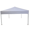 Garden Treasures 10-ft W x 10-ft L Square White Aluminum Pop-Up Canopy