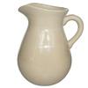 GT 175 oz Cream Ceramic Pitcher