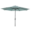 Garden Treasures Patio Umbrella (Common: 105-in W x 105-in L; Actual: 105-in W x 105-in L)