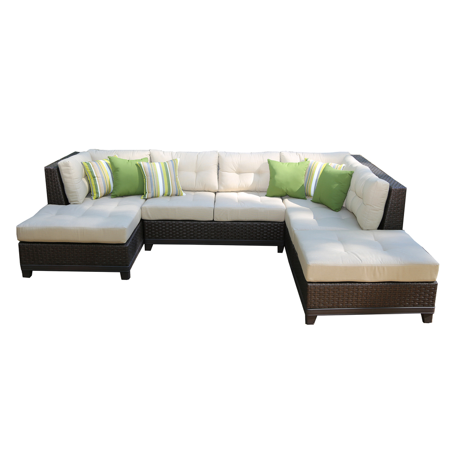 Lowes sectional patio furniture corliving ppo 801 z for Outdoor furniture at lowes