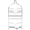 allen + roth 24-1/4-in H Over The Showerhead Steel Hanging Shower Caddy