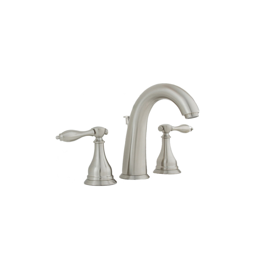 shop aquasource creation suites brushed nickel 2 handle