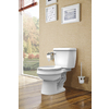 Project Source White 1.28-GPF (4.85-LPF) 12-in Rough-In WaterSense Round 2-Piece Standard Height Toilet