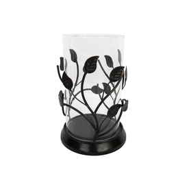 allen + roth Metal/Glass Candle Holder