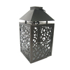 allen + roth 13.11-in H Bronze Metal Outdoor Decorative Lantern