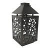 allen + roth 8.11-in H Bronze Metal Outdoor Decorative Lantern