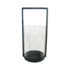 Style Selections Metal with Glass Candle Holder