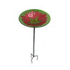Garden Treasures 1-Tier Birdbath