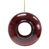 Garden Treasures Red Glass Squirrel-Resistant Window Bird Feeder