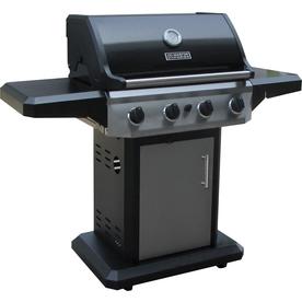 Master Forge 4-Burner (48,000 BTU) Liquid Propane Gas Grill