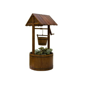 Shop Garden Treasures Decorative Wishing Well at Lowes.com