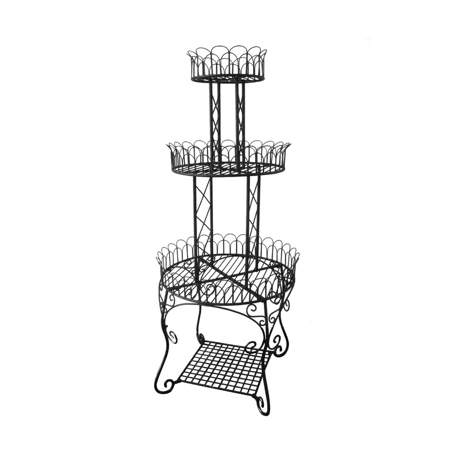 Shop Garden Treasures 59 5 In 3 Tier Plant Stand At