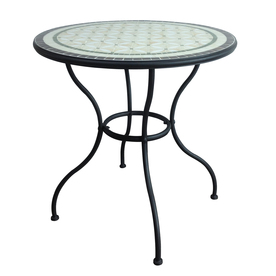 Ean 6948156100349 Garden Treasures Pelham Bay Tile Top Black Round