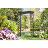Garden Treasures Wood Grain Garden Arbor