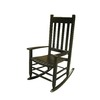 Garden Treasures Black Outdoor Rocking Chair