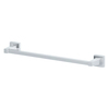 Style Selections Greenville Polished Chrome Single Towel Bar (Common: 18-in; Actual: 20.07-in)