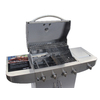 Master Forge 4-Burner (48,000-BTU) Liquid Propane Gas Grill with Side Burner